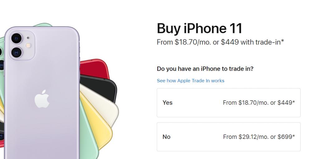 iPhone 11 Installment Options