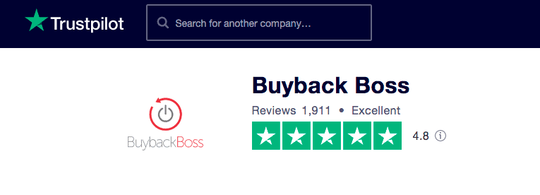 Buyback Boss Trustpilot Reviews